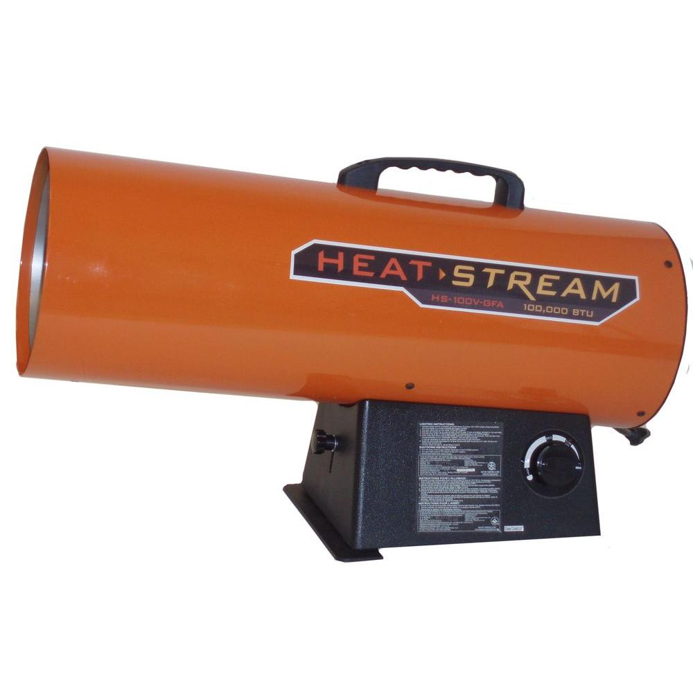Heat Stream 125,000 BTU Forced-Air Propane Heater