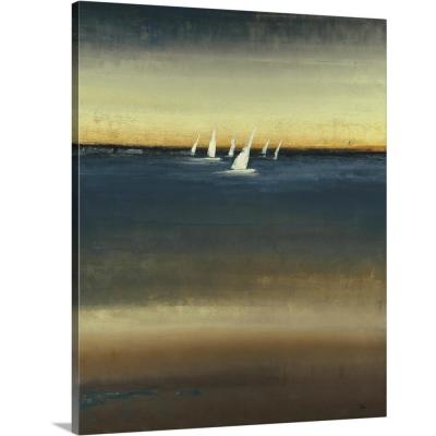 """Waters Edge"" by Lisa Ridgers Canvas Wall Art"