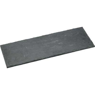 15 in. Wide Black Slate Serving Tray