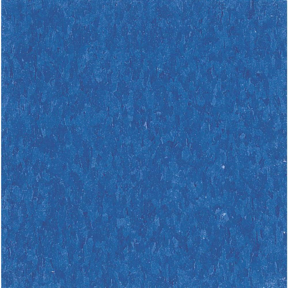 Imperial Texture VCT 12 in. x 12 in. Marina Blue Standard