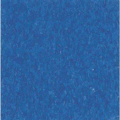 Imperial Texture VCT 12 in. x 12 in. Marina Blue Standard Excelon Commercial Vinyl Tile (45 sq. ft. / case)