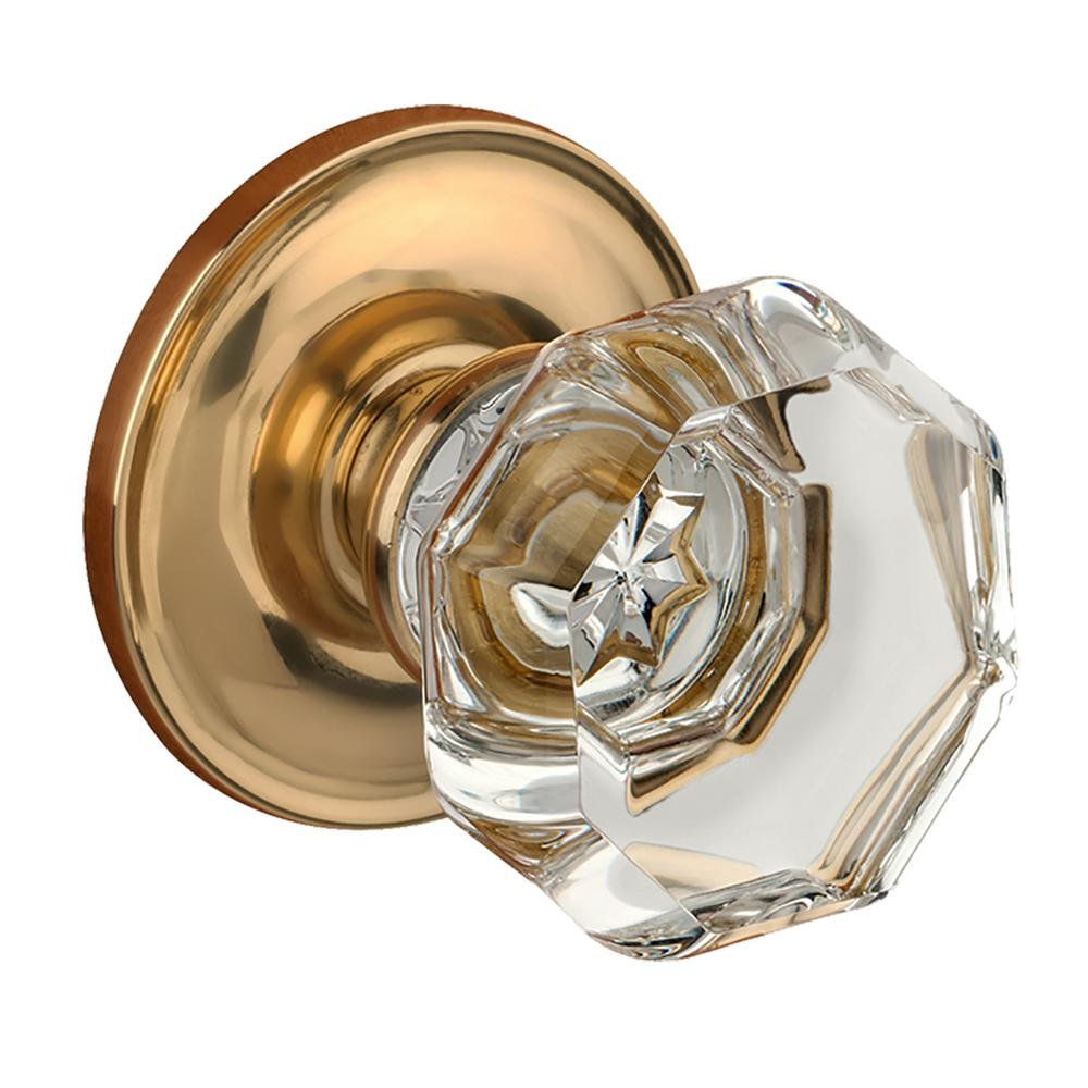 Crystal Style Door Knob Classic Rosette Passage Hall/Closet Hall/Closet Function