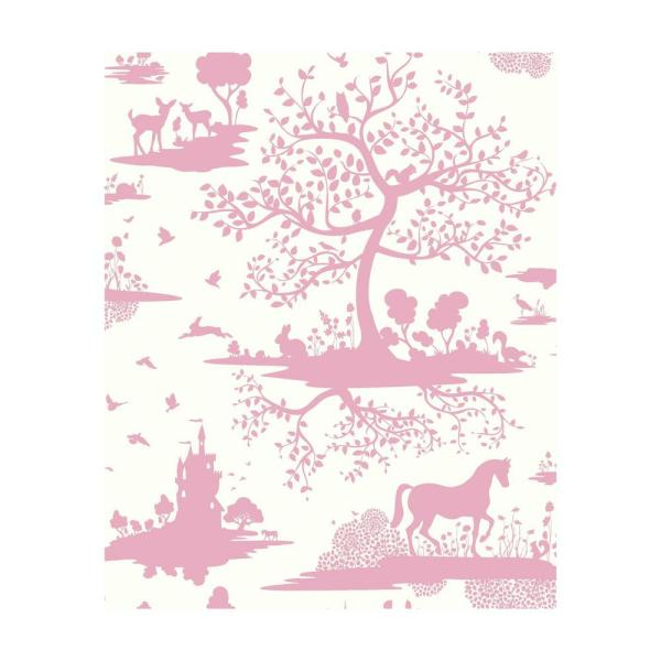 York Wallcoverings DwellStudio Baby and Kids Fable Wallpaper