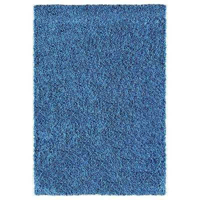 Bella Collection Blue 5 ft. x 7 ft. Area Rug