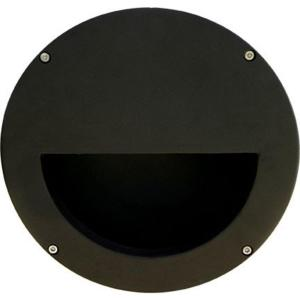 Filament Design Ashler 1-Light Black Outdoor Large Recessed Step Light by Filament Design