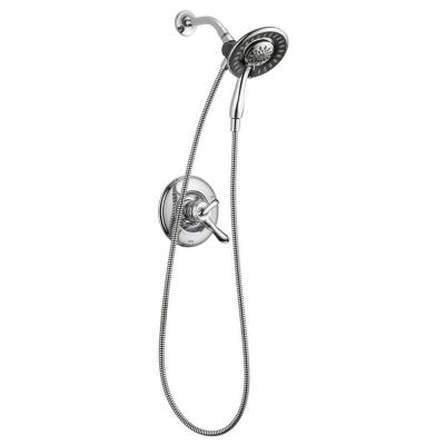 Linden In2ition 1-Handle Shower Only Faucet Trim Kit in Chrome (Valve Not Included)