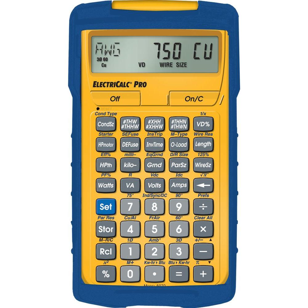 Calculated Industries ElectriCalc Pro Calculator
