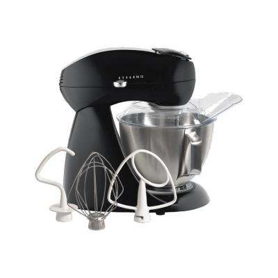 Eclectrics 4.5 Qt. Black All-Metal Stand Mixer