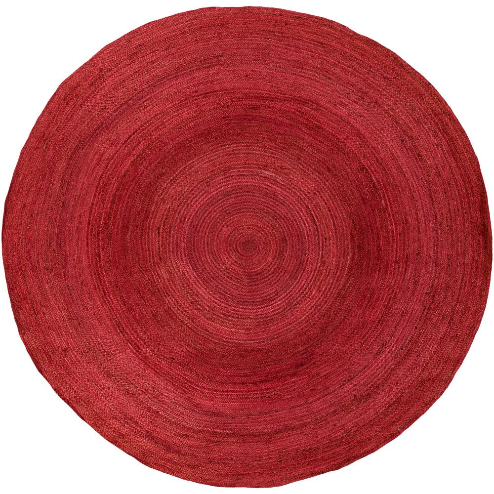 Carmichael Rose (Pink) 8 ft. x 8 ft. Round Area Rug