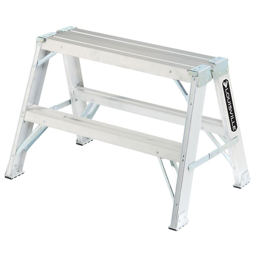 2 ft. Aluminum Step Ladder with 300 lb. Load Capacity Type