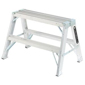 aluminum step ladder with 300 lb load capacity type ia duty rating