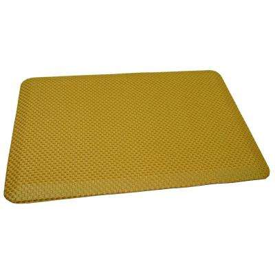 Comfort Craft South Park Buck Skin 24 in. x 48 in. Poly-Urethane Anti-Fatigue Kitchen Mat
