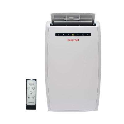 10,000 BTU Portable Air Conditioner with Dehumidifier and Remote Control in White