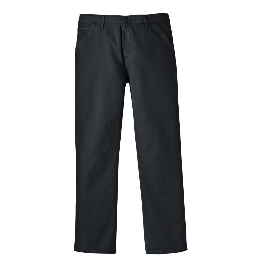 Dickies Relaxed Fit 36 in. x 30 in. Denim 5-Pocket Jean Tinted Khaki-DISCONTINUED