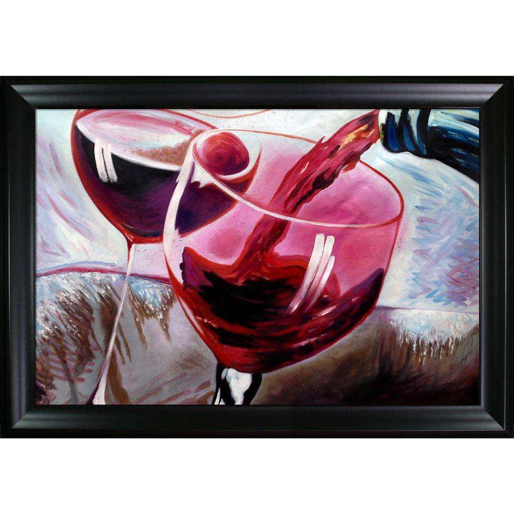 ArtistBe That's a Good Cab Reproduction with Black Matte FrameCanvas Print, Multi-color was $759.07 now $343.3 (55.0% off)