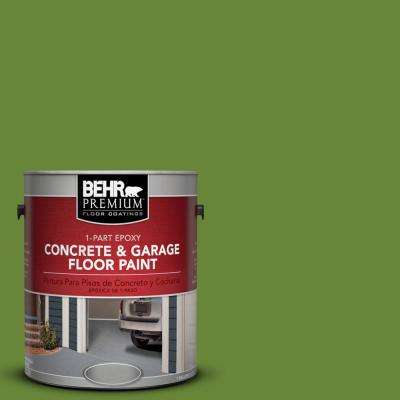 1 gal. #P370-7 Sun Valley 1-Part Epoxy Concrete and Garage Floor Paint