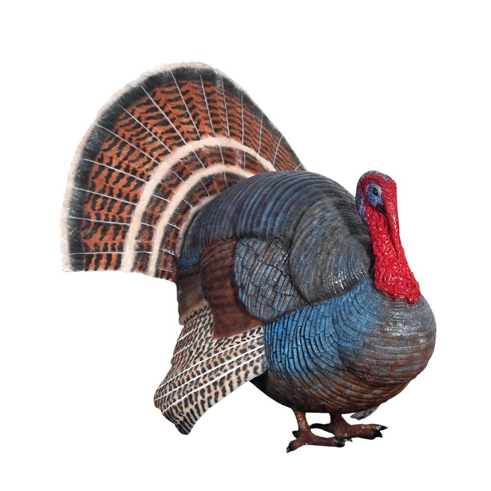 31.5 in. H Wild Tom Turkey Grand Scale Statue