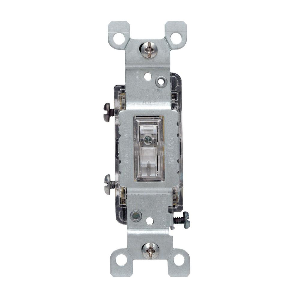 clear leviton switches r50 01461 0lc 64_1000 leviton 15 amp illuminated toggle switch, clear r50 01461 0lc 4-Way Switch Wiring Examples at gsmportal.co