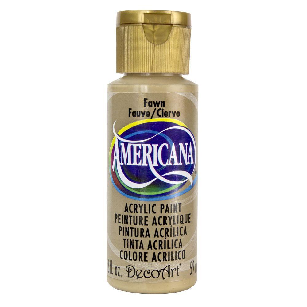 Americana 2 oz. Fawn Acrylic Paint