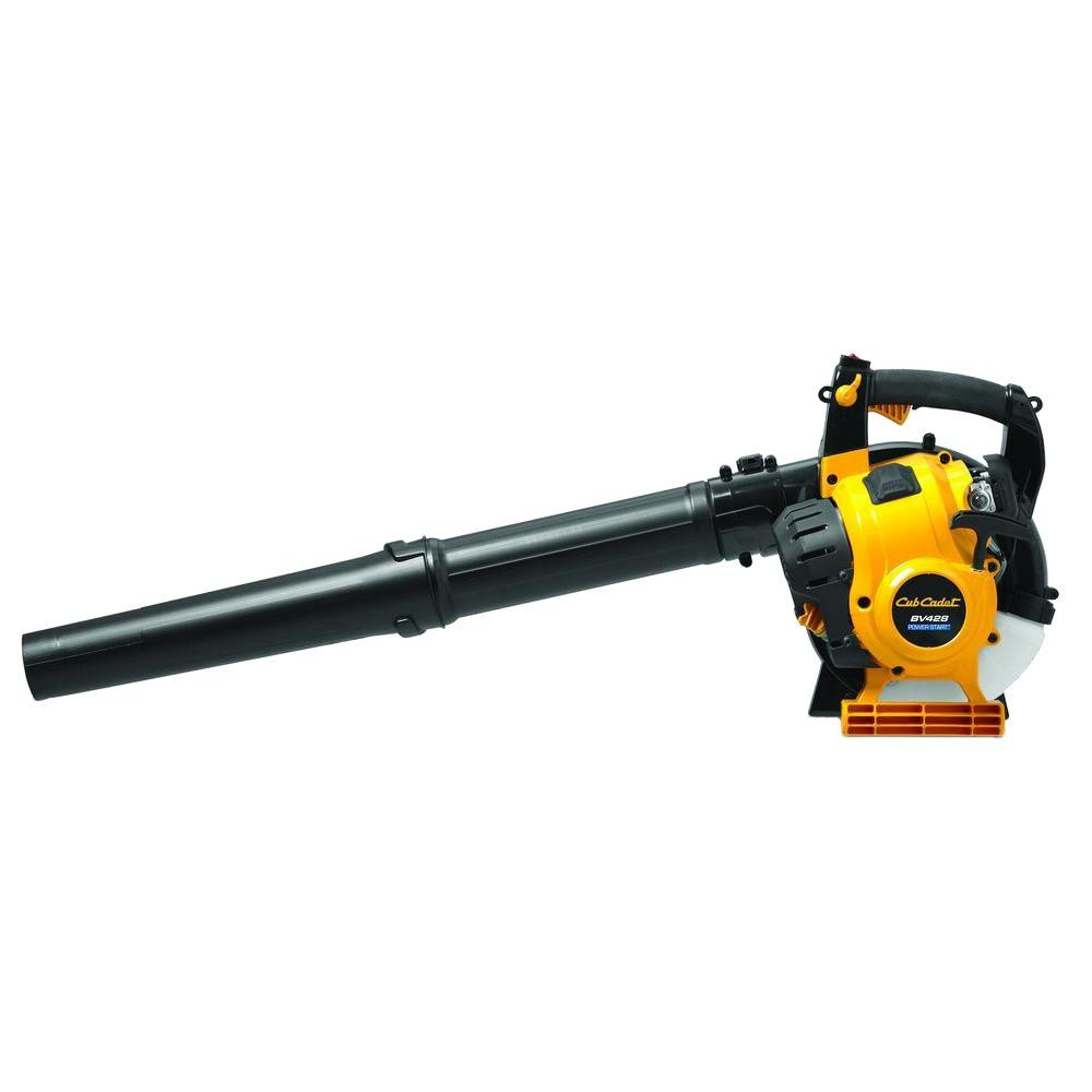 Cub Cadet 150 MPH 450 CFM 4-Cycle 25cc Gas Handheld Leaf Blower/Vac