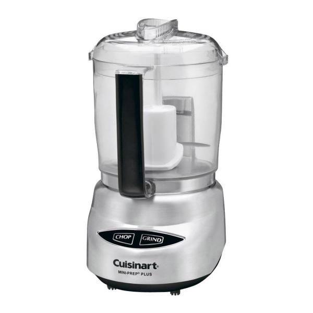 Mini-Prep Plus 4-Cup 2-Speed Stainless Steel Food Processor