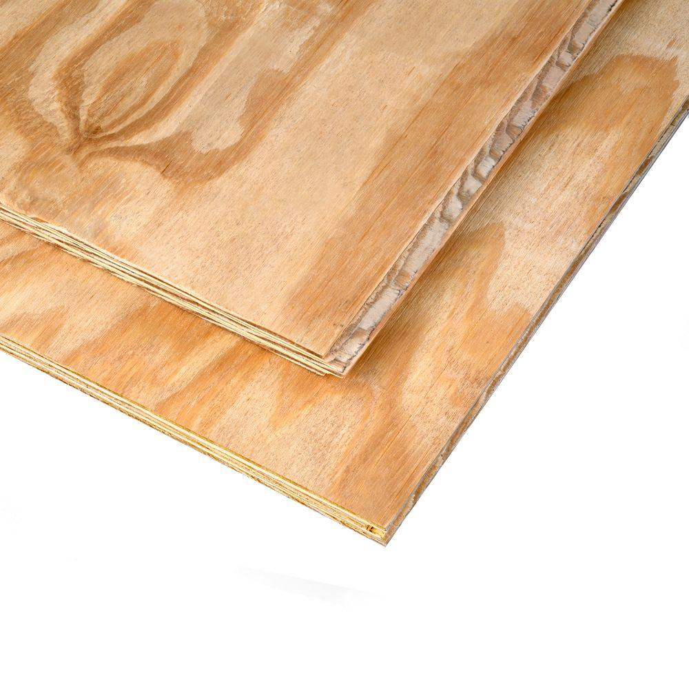 23/32 in. x 4 ft. x 8 ft. Southern Pine Tongue and Groove Plywood Sheathing