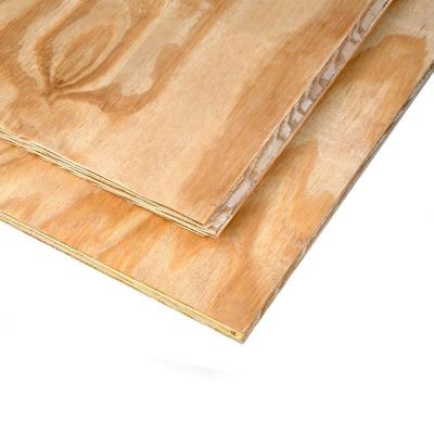 15/32 in  x 4 ft  x 8 ft  3-Ply RTD Sheathing-132411 - The Home Depot