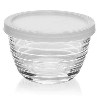 8-piece Small Glass Bowl Set with Lids
