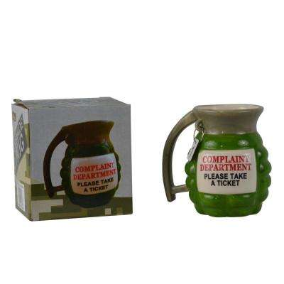 12 oz. Complaint Department Ceramic Grenade Mug