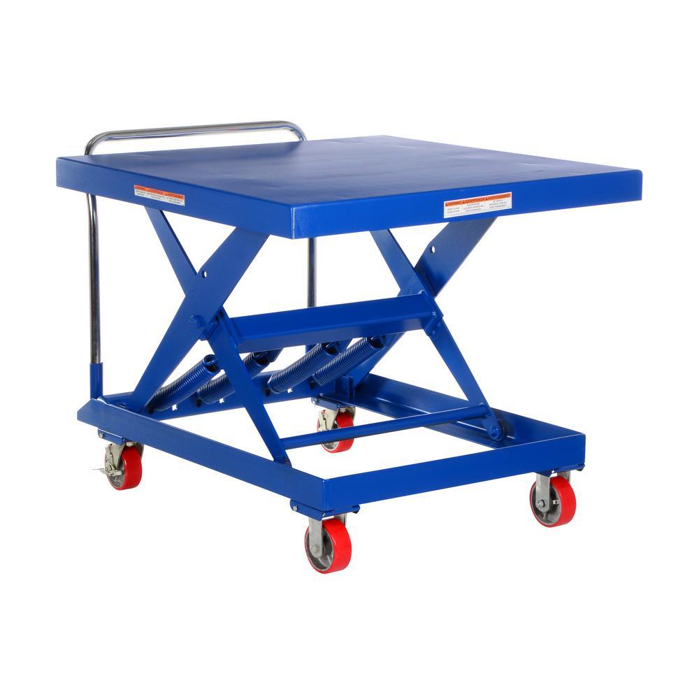 42 in. x 42 in. 1,000 lb. Capacity Auto-Hite Cart