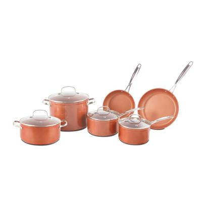 Duralon 10-Piece Forged Aluminum Cook Set