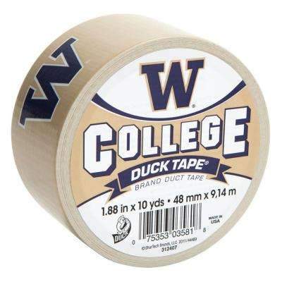 College 1-7/8 in. x 30 ft. University of Washington Duct Tape (6-Pack)