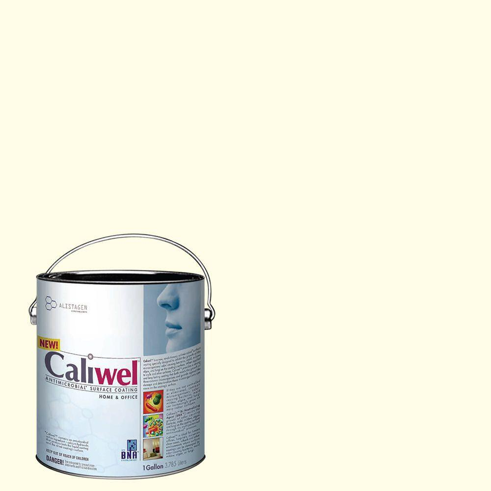 Caliwel Home & Office 1 gal. Rest Assured Creme Latex Premium Antimicrobial and Anti-Mold Interior Paint