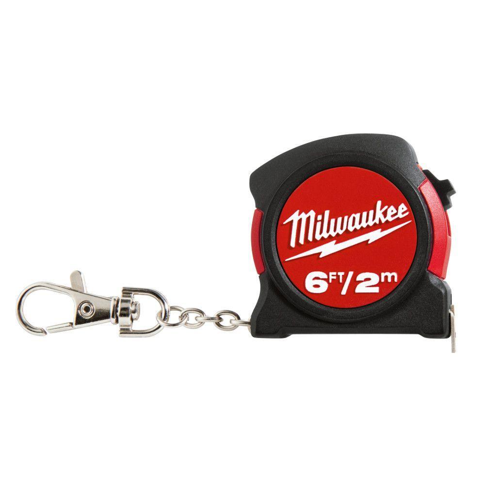 Milwaukee 6 ft. Keychain Tape Measure by Milwaukee