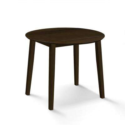 Helena Cappuccino Dropleaf Table