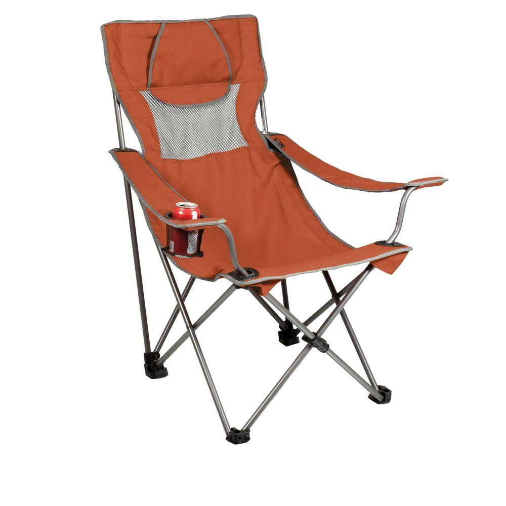 Trademark Innovations 65 in. Triple Style Black Tri Camp Chair with ...