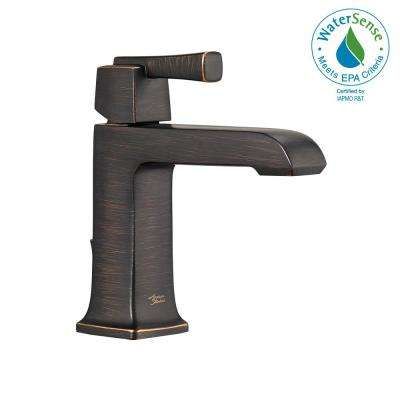 Townsend Single Hole Single-Handle Bathroom Faucet with Speed Connect Drain in Legacy Bronze