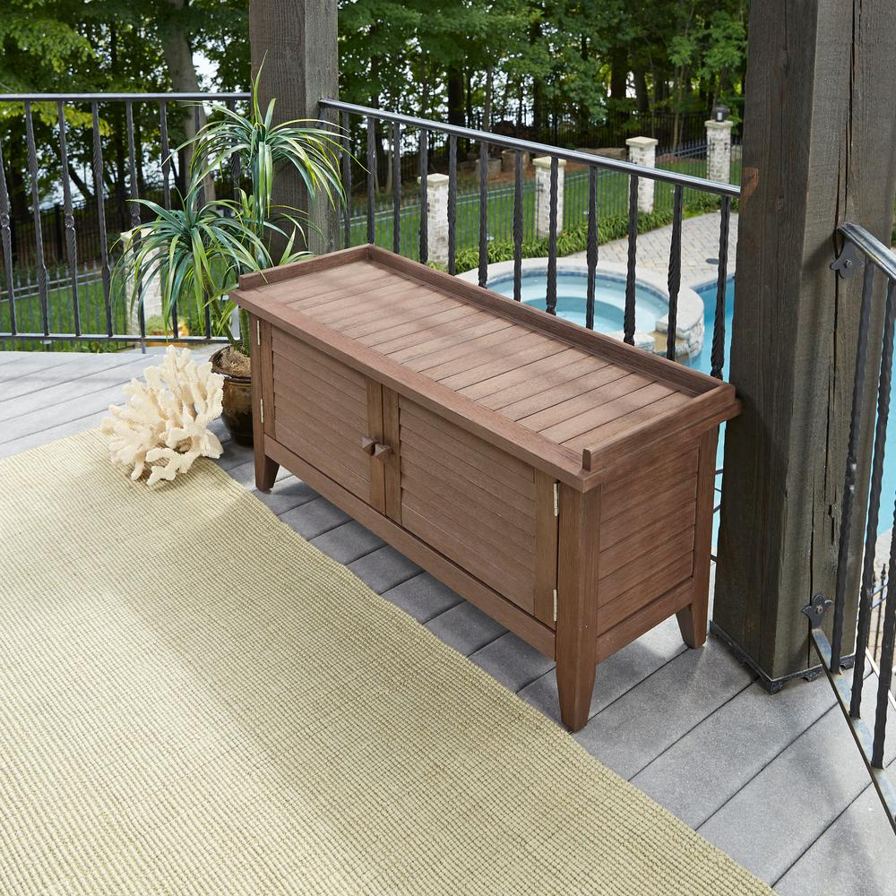 Home Styles Laguna 47.5 in. Wood Outdoor Bench