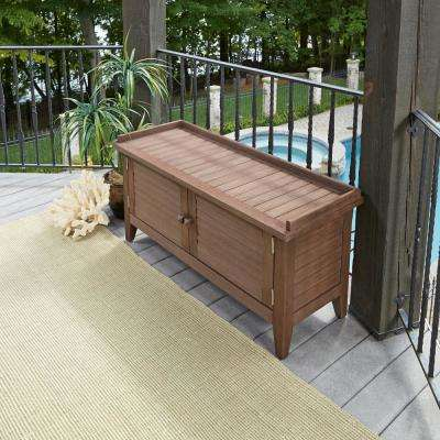 Laguna 47.5 in. Wood Outdoor Bench