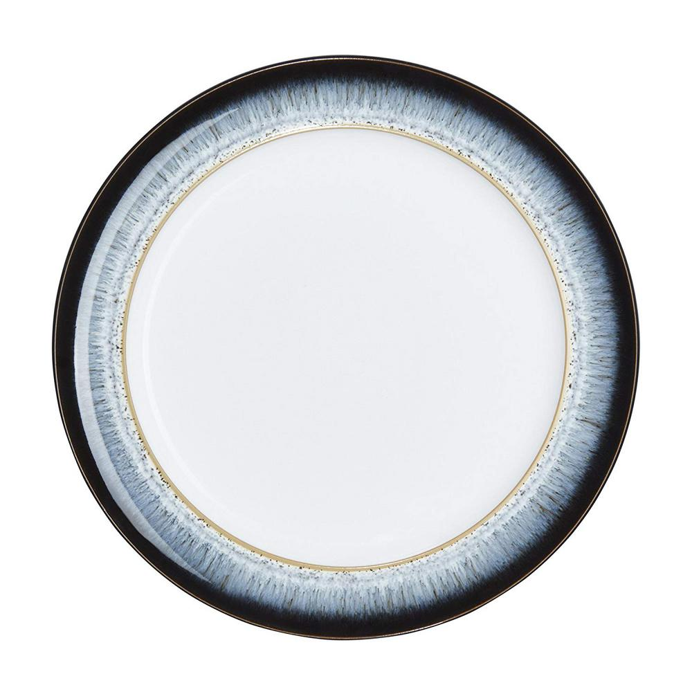 Denby Halo Wide Rimmed Blue Dinner Plate