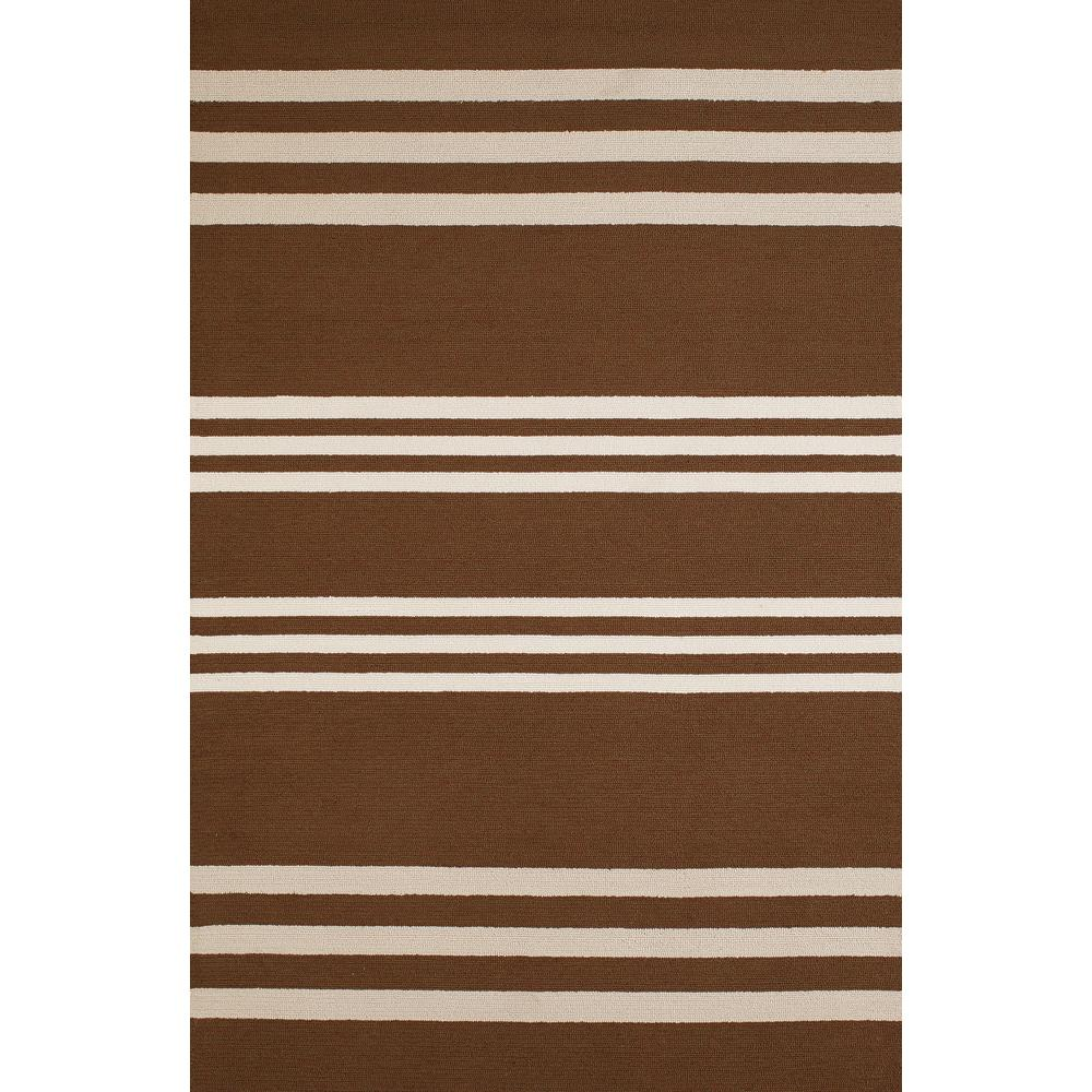 United Weavers Panama Jack Signature Parallel Chocolate 1 Ft 11 In