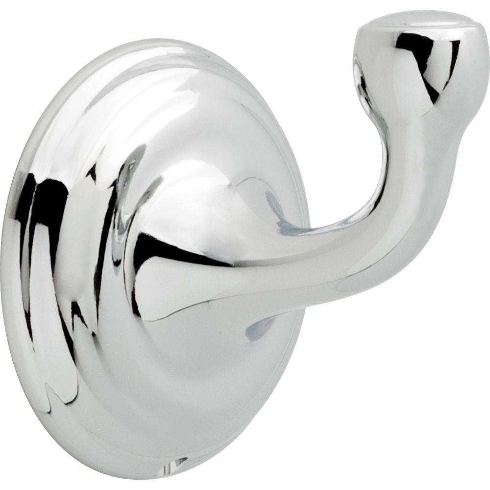 Delta Windemere Single Towel Hook in Chrome