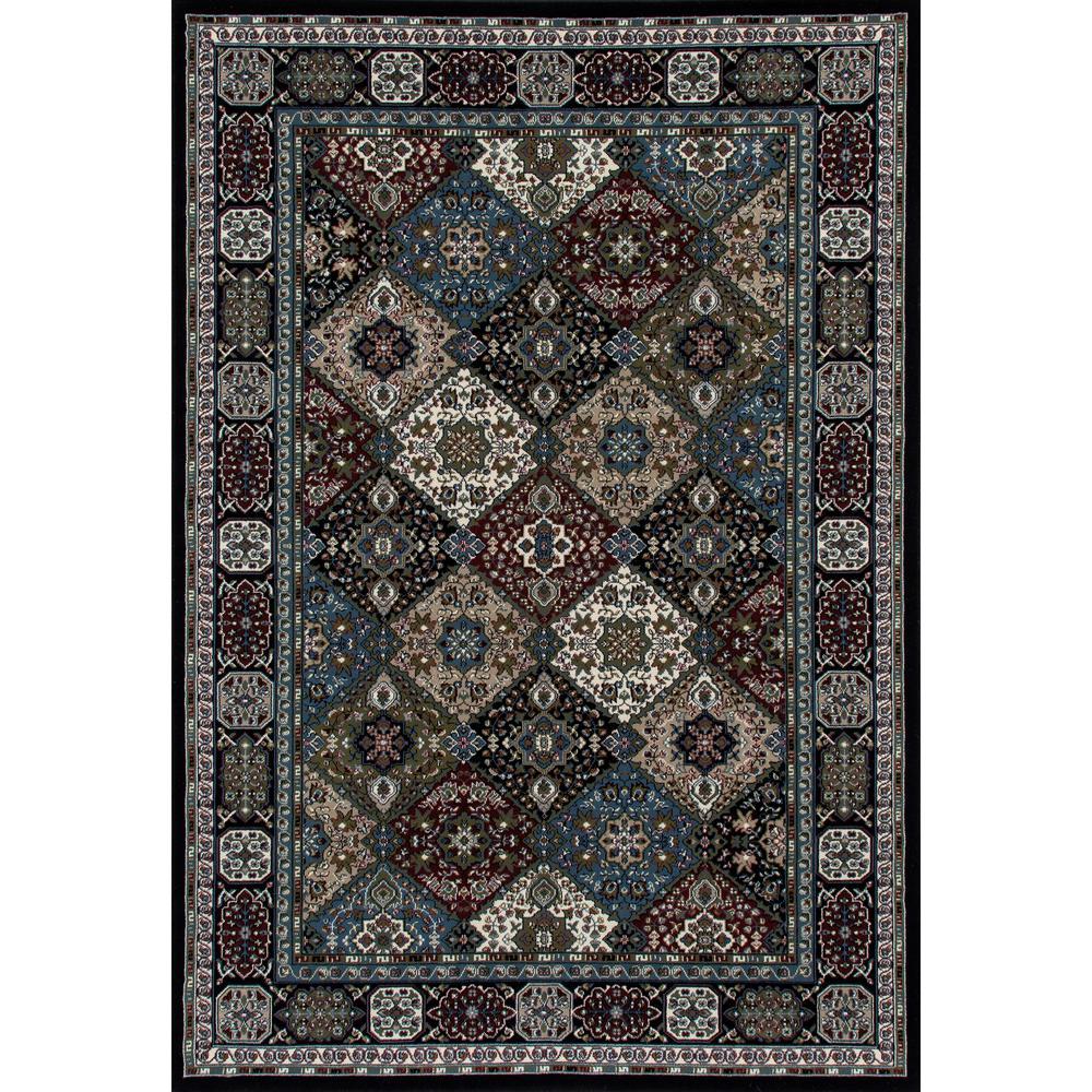art carpet kensington patchwork black 10 ft 11 in x 15 ft area rug 841864103939 the home depot. Black Bedroom Furniture Sets. Home Design Ideas