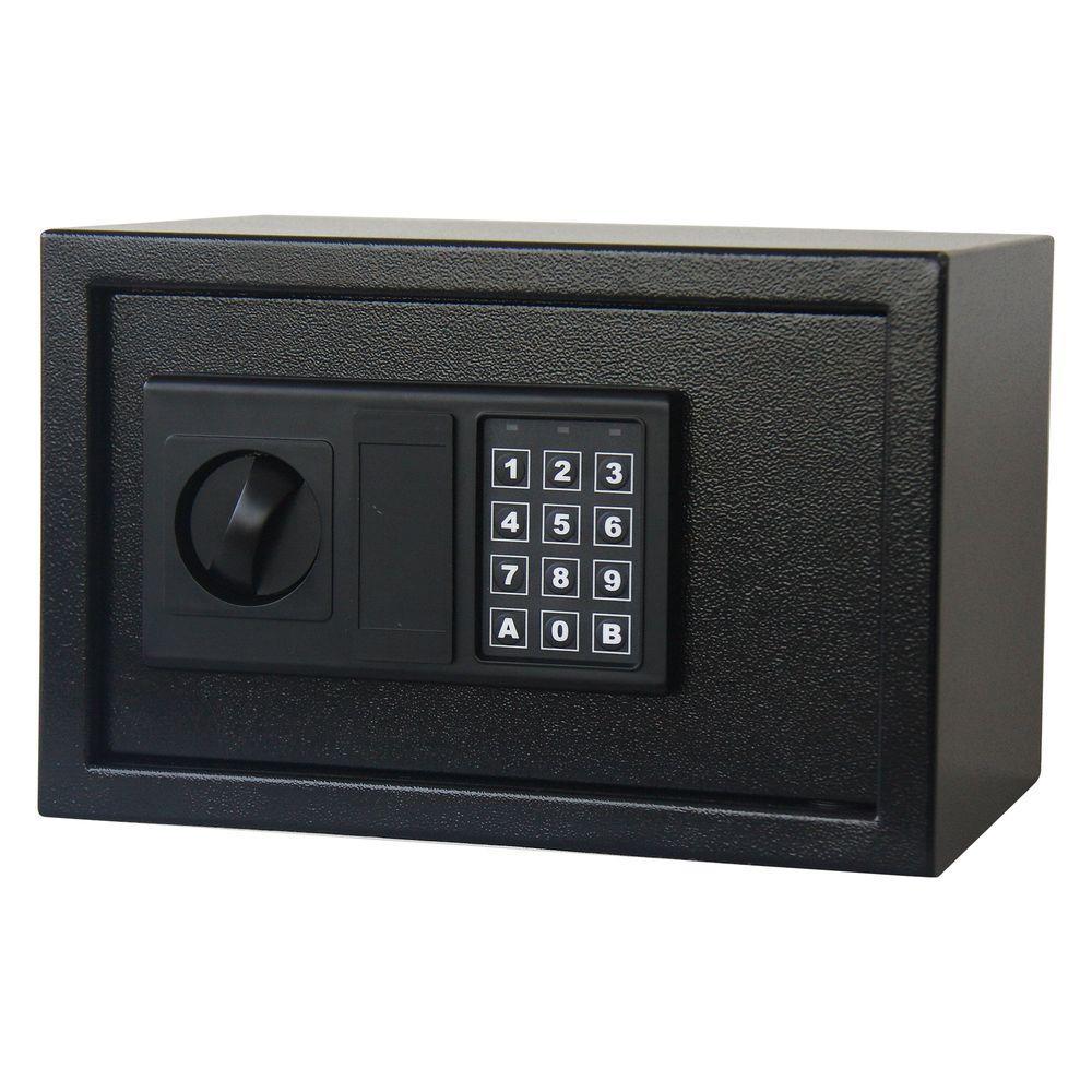 Stalwart 0.32 cu. ft. Premium Digital Lock Steel Safe