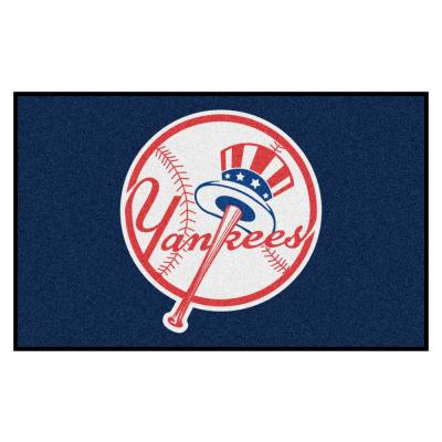 MLB - New York Yankees 5 ft. x 8 ft. Ulti-Mat Area Rug