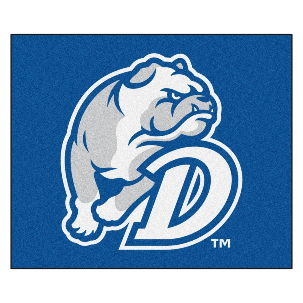 NCAA Drake University Blue 5 ft. x 6 ft. Area Rug