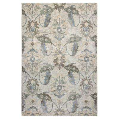 Vintage Traditions Ivory 9 ft. x 13 ft. Area Rug