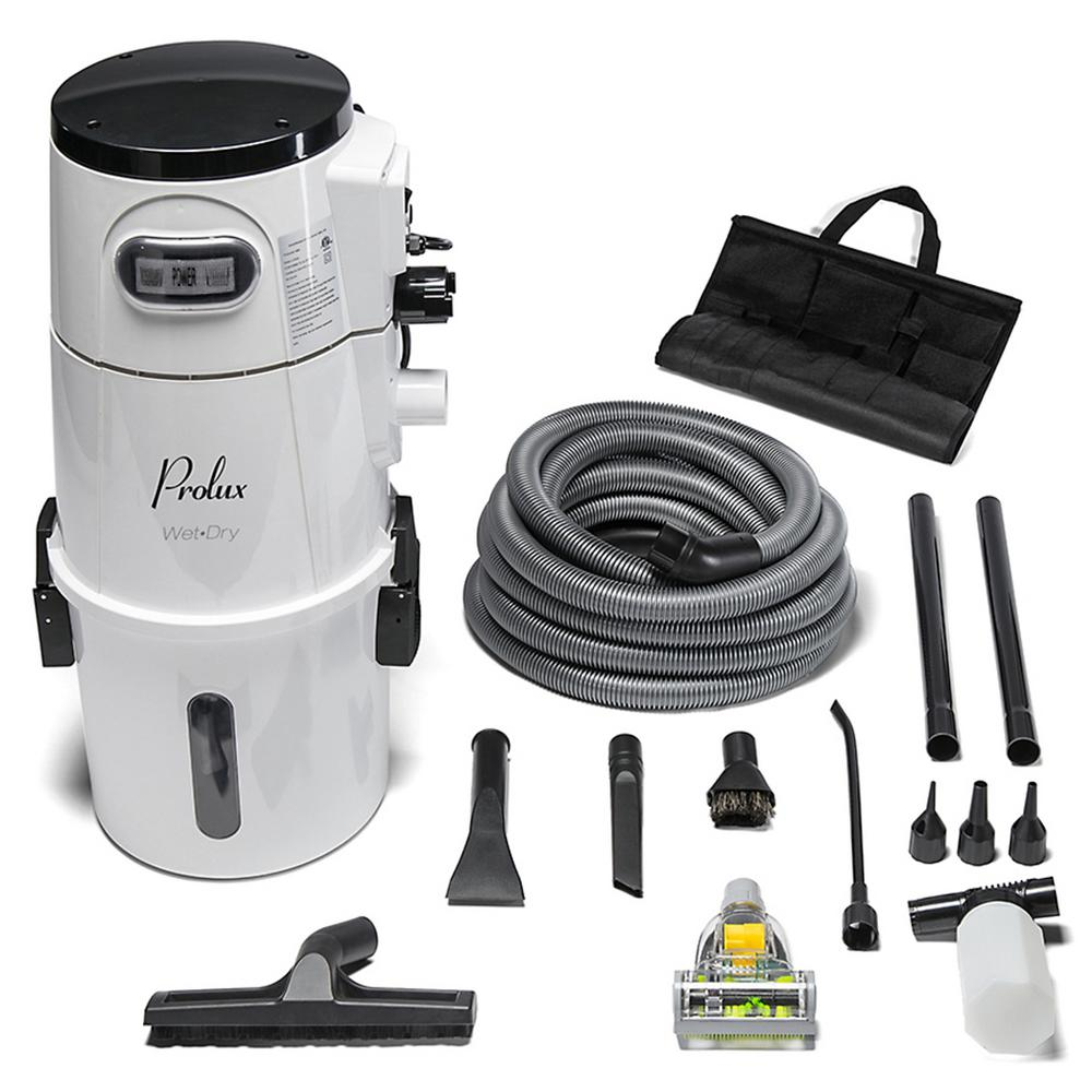 Garage Wet Dry Vacuum With Tool Kit Prolux