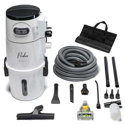 Prolux 5.88 Gal. Professional Wall Mounted Garage Shop Wet/Dry Vacuum Pick Up