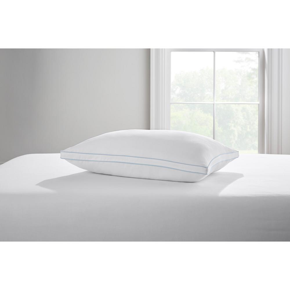Home Decorators Collection Home Decorators Collection Medium/Firm Down Alternative Jumbo Pillow, White